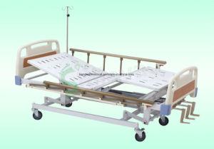 Medizinische Behandlung-Bett mit drei Kurbel-Krankenhaus-Möbeln (SLV-B4026)
