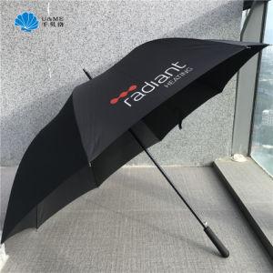 Paraplu van het Golf van de Paraplu van de Paraplu van de Druk van de douane de Promotie Openlucht Rechte