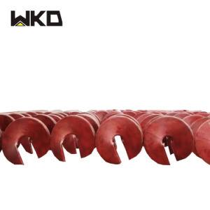 Il Brasile ampiamente usa la pianta minerale della lavata del bicromato di potassio a spirale
