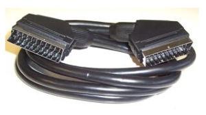 Scart 케이블 1m 1.25m 1.5m 1.8m 2m에 고품질 21 Pin Scart
