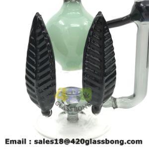 Tabak Weed verlässt Entwürfen unbesonnene Glasölplattformen Glaswasser-Pfeife