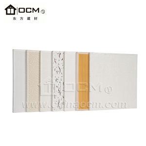 Geen Plafond van pvc Mgso4 van de Decoratie van het Stof Vuurvast