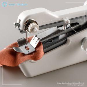 CABINA HOME N/ähmaschine Mini Elektrische mit Verl/ängerungstisch Fu/ßpedal N/ähmaschine Tragbar Sewing Machine Schneller Handlicher Handn/ähmaschine mit Zubeh/ör