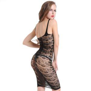 Lingerie sexy nuisette creux de maillage de la lingerie robe femmes Fishnet lingerie érotique