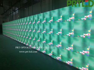 HD Monitor de Vídeo a Cores de interior, Tela de LED de publicidade assinar com a bordo de 512 x 512 mm (P 2 e P 4)