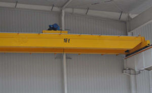 Qdのモデル頑丈な二重ガードの天井クレーン