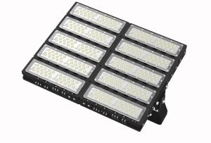 300W/400W/500W/600W/700W/800W/1000w/1200W Projector LED de exterior IP65 para o Desporto Tribunal