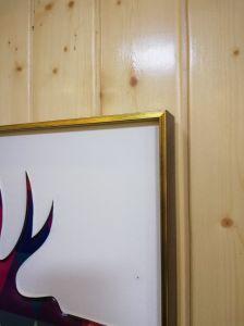 カスタム金属の写真フレームの写真の木の額縁アルミニウムプロフィール