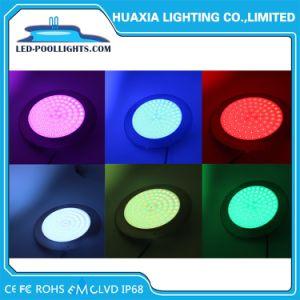 IP68 Многоцветный светодиодный индикатор толщины 8 мм подводного освещения 316 ss бассейн светодиодный индикатор