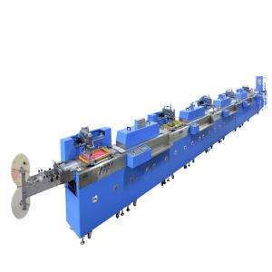 리본을 기계 제조자를 인쇄하는 자동적인 스크린이라고 레테르를 붙이십시오