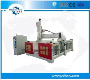 Máquina de gravura CNC 3D para a Madeira// Moldagem de espuma de poliestireno expandido