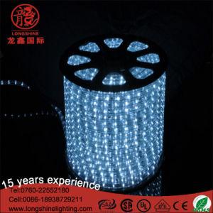 건물 훈장 LED 네온 밧줄 연한 색 변화 밧줄 빛