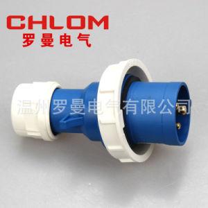 125A 3p 6h Norme européenne étanche IP67 Dust-Proof Socket, industrielle et la prise de fiche femelle