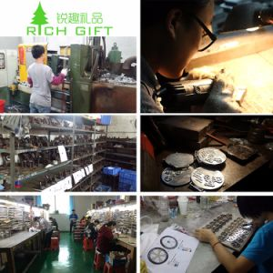 中国の製造業者のカスタム金属の真鍮の多彩なエナメルの花の女の子のための赤いローズの折りえりPin