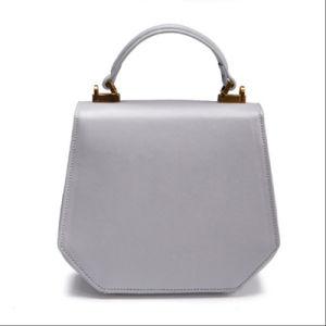 La mujer en el bolso al hombro bolsos señoras bolso de cuero