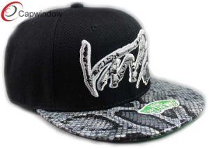 6つのパネルの平らなスポーツの急な回復の帽子をブランクにしなさい