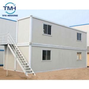 建築現場のための40FTのサンドイッチのパネルの鋼鉄容器の生きている家