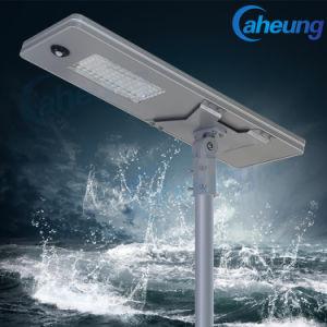 20W/30W/40W/50W/60W/80W/100W/120W tudo-em-um LED Solar Exterior/Integrado Street Jardim Luz com Sensor de movimento