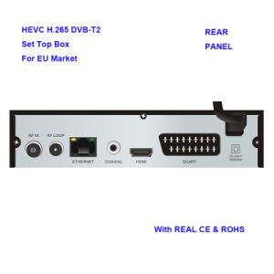 Receptor Terrestre Hevc H. 265 DVB-T2 com marcação RoHS