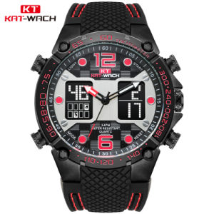 中国OEMの方法ギフトのスイス・クウォーツ革バンドが付いているカスタム手首の実業家の腕時計