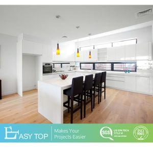 Estilo moderno preço de fábrica armário de cozinha MDF Laquer