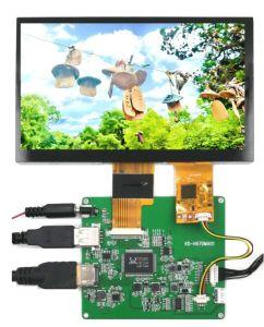 La Alta calidad 7 pulgadas de pantalla LCD CTP HDMI (interfaz USB) con función táctil