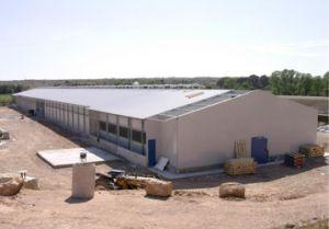 Estrutura de aço pré-fabricadas Casa de frango (KXD-PCH1451)