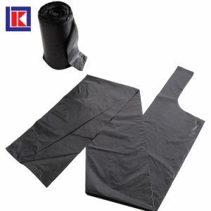 OEM에 의하여 재생되는 무거운 강한 큰 수용량 HDPE/LDPE 쓰레기 봉지