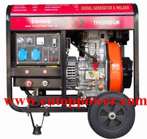CE/ISO9001 160A-180Aの5kw Diesel Welding Generator