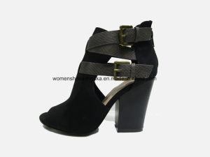 Chaussures chaudes de santal de talon haut de mode de femmes de vente en gros de vente