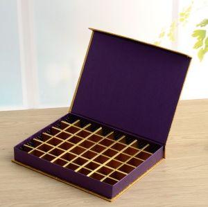 48 de cuadrículas de chocolate con tapa de caja, caja de regalo, Papel de Embalaje