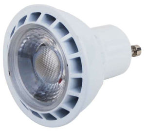 3W COB LED Spotlight mit White Aluminum Housing Lens