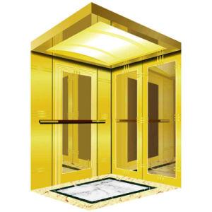 Золотой стекла пассажира главная наблюдения панорамный лифт из Китая производители