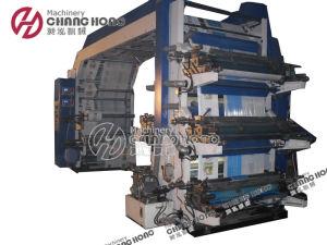 Doble viento 6 colores de impresión flexográfica Máquina (CH886)