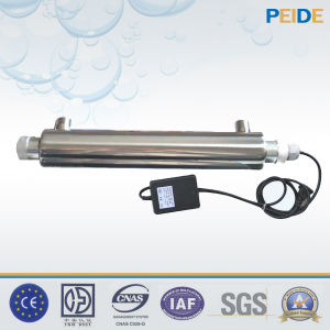 Het UV Systeem van de Behandeling van het Water van de Desinfectie voor de Apparatuur van het Hergebruik van het Water
