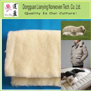 Nonwoven Fabric rebatidas de lã para Extras/Enchimento Quilt
