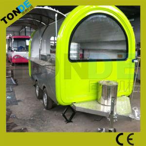Heißer verkaufenstraßen-Verkauf karrt mobile BBQ-Nahrungsmittelkarre