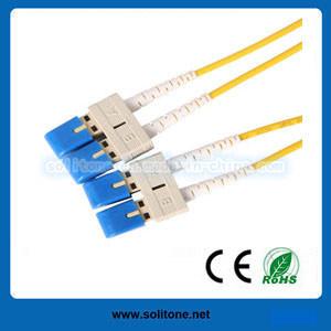 El modo Single de fibra óptica LC dúplex Cable de conexión (STFC-LC-PLT)