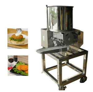 Hamburger automatico Preduster (macchina Flouring) Sfj600-V di alta qualità