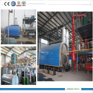 10ton Used Oil Refining Machinery 24hours Non-Sotp