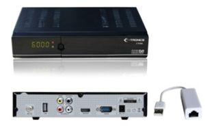 Состояние ET6300, HD MPEG4/H. 264 DVB-S2 ресивер с порт LAN (sunplus 1502)