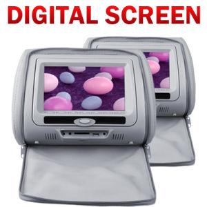 디지털 방식으로 스크린과 분리가능한 스크린 (VH74)를 가진 7inch 머리 받침 DVD 플레이어