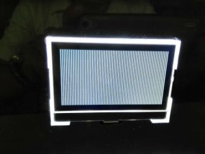 Les modules LCD Affichage LCD électronique de l'horloge numérique