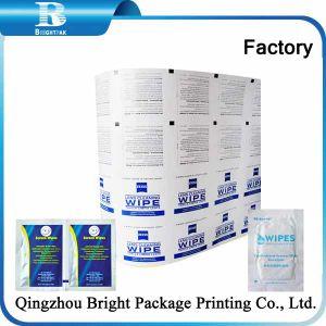Los valores de fábrica de papel de aluminio para la aerolínea refrescante de buena calidad las toallitas húmedas, el papel de aluminio Línea Aérea refrescante las toallitas húmedas