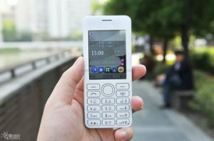 Teléfono celular barato del teléfono de la marca de fábrica de la barra de la original del teléfono móvil 206