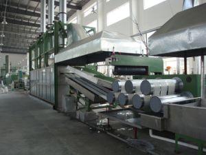 A linha de produção de fibras descontínuas de Polyeser