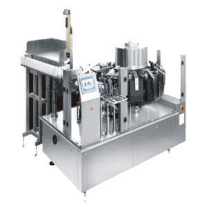 Bolsa automática Máquina de embalaje al vacío para el envasado de aperitivos y productos cárnicos Productos/judía (MI-120ZK)
