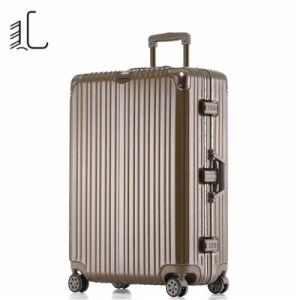 El lujo clásico PC ABS Funda rígida de la bolsa de equipaje de viaje Trolley