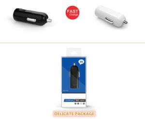 Мини-один порт USB 5V 1A автомобильное зарядное устройство для телефона