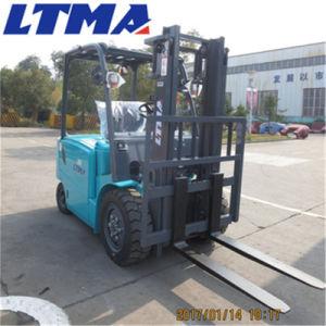 Ltma 3.5 ton batería nueva tipo de carretilla elevadora eléctrica